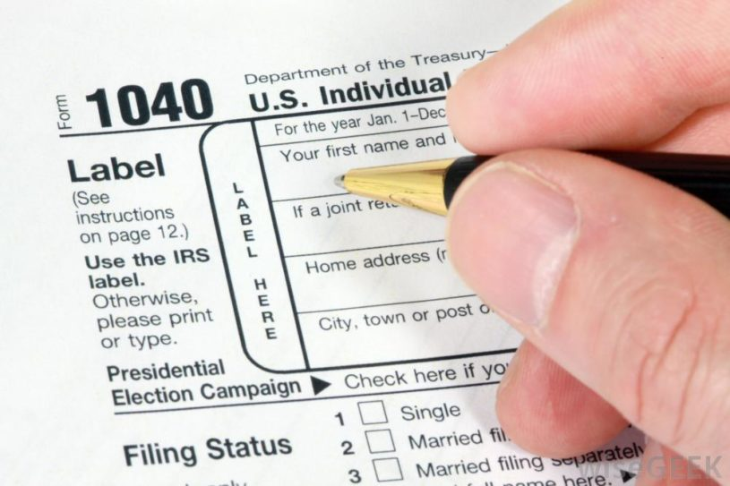 irs-1040-individual-tax-return-form-being-filled-out